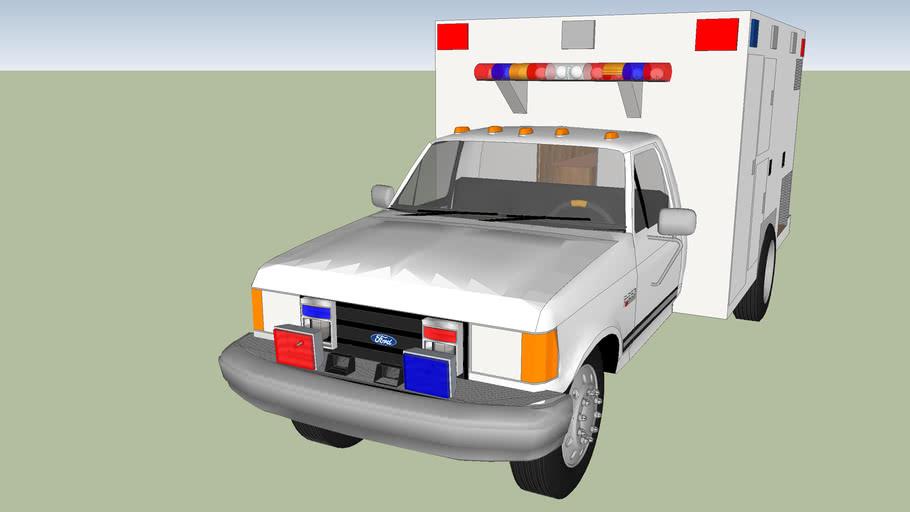 Type 1 ambulance ford f 250 model 1989