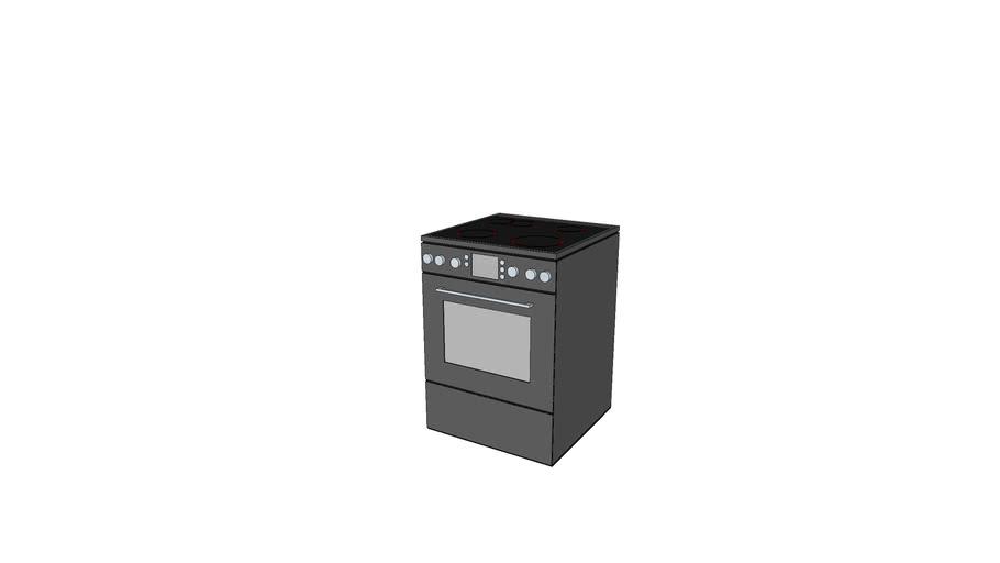 Плита кухонная 600х600х850