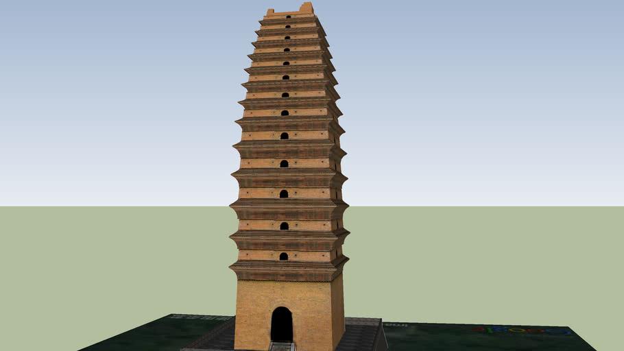 荐福寺小雁塔 Small Wild-Goose Pagoda