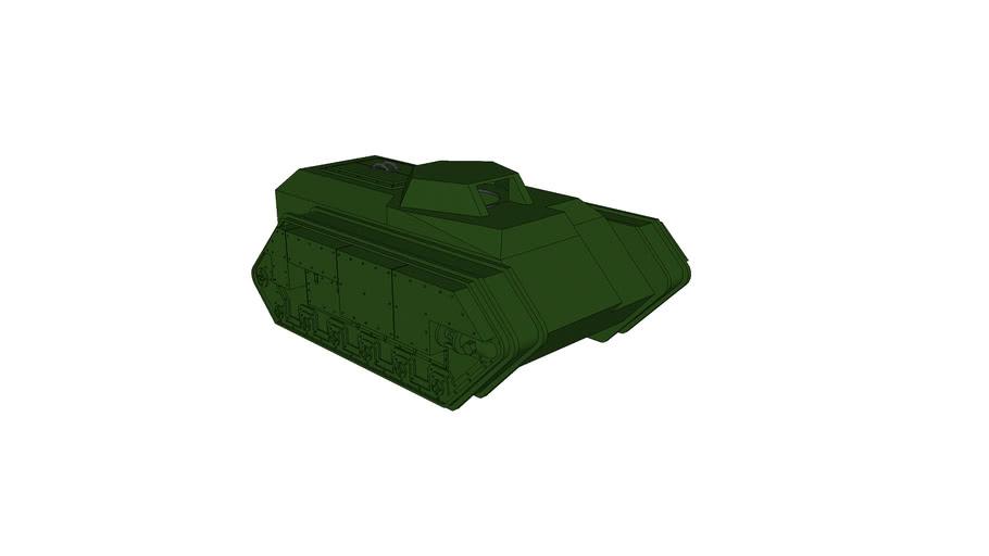 Warhamme 40,000 Imperial Guard Chimera - WIP Update
