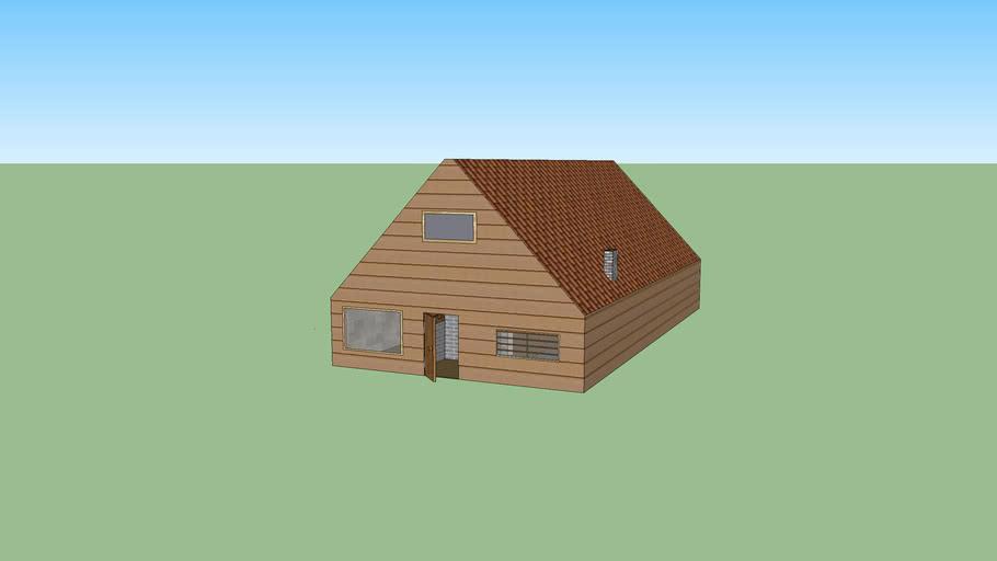 modelhuis losstaand huis