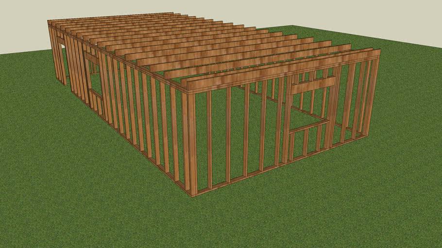 destructable house's 1st platform