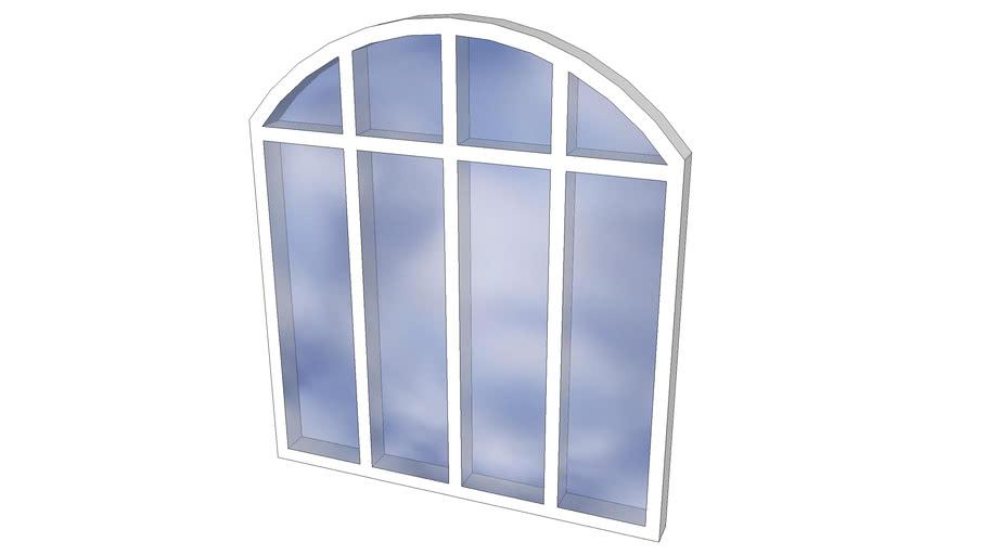 Janela Arcada Arqueada - Arched Window Arcade