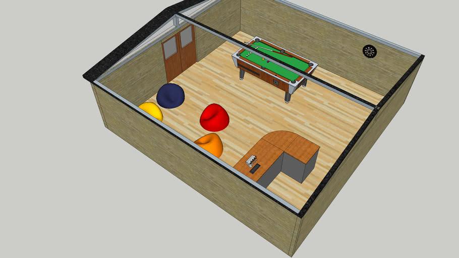 Lad Cabin Interior Render