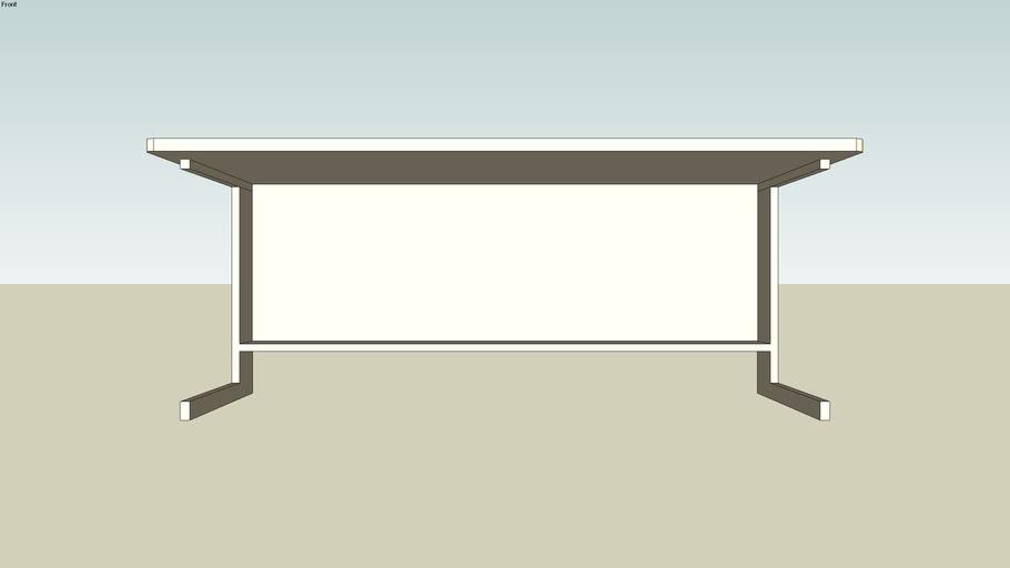"""Generic 30"""" x 72"""" cubicle desk"""