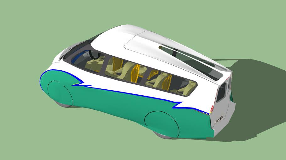 CarBEN EV5 (w/ 2 LED headlights)