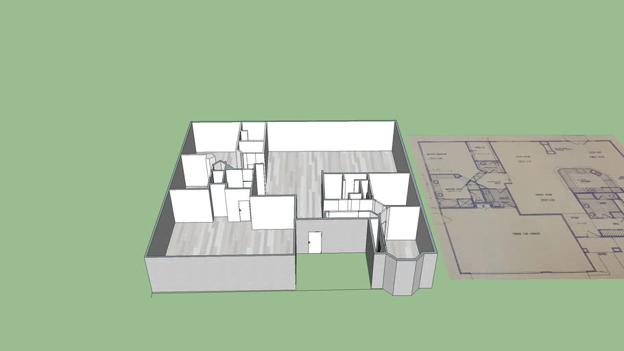 Doron House 3 D by sizes