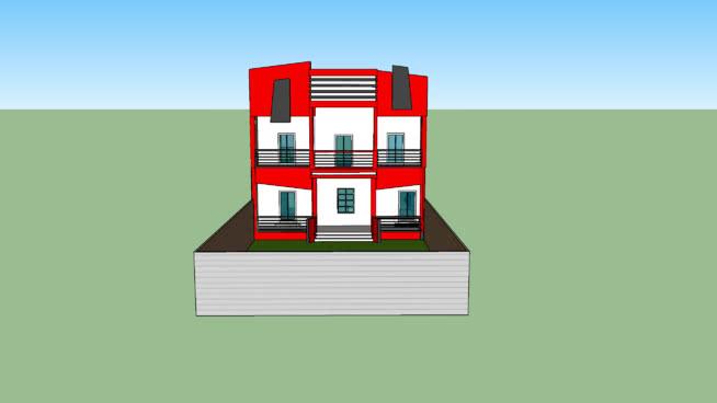 Maison moderne | 3D Warehouse