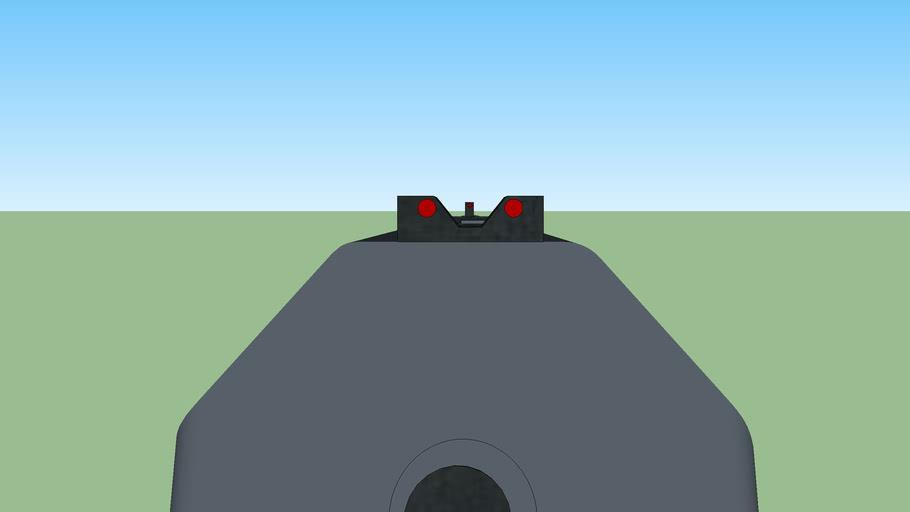 M17 Silenced aim