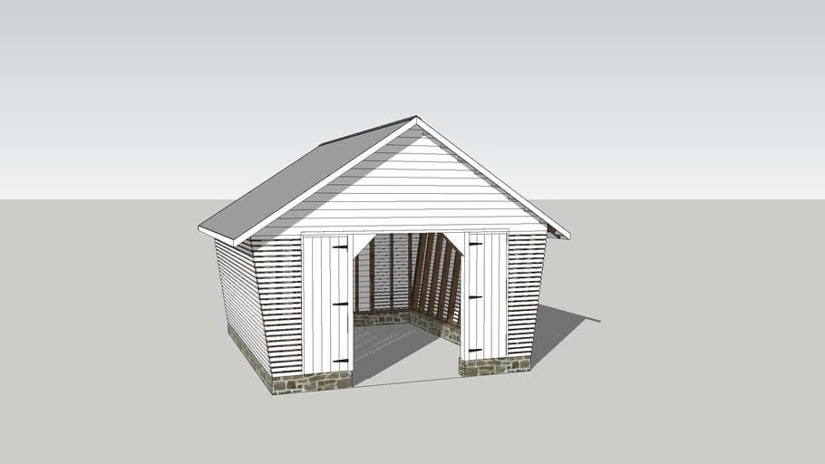 Corn Crib Garage