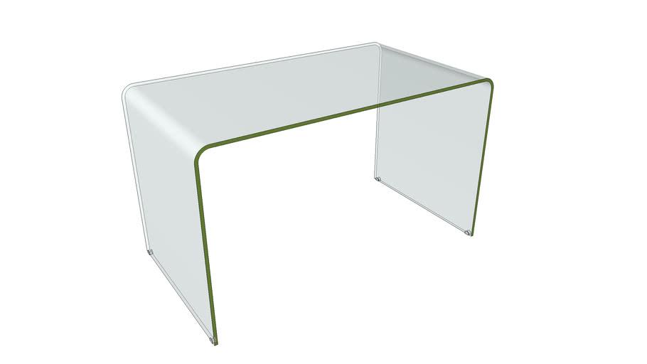 Glass Desk - Scrivania in vetro