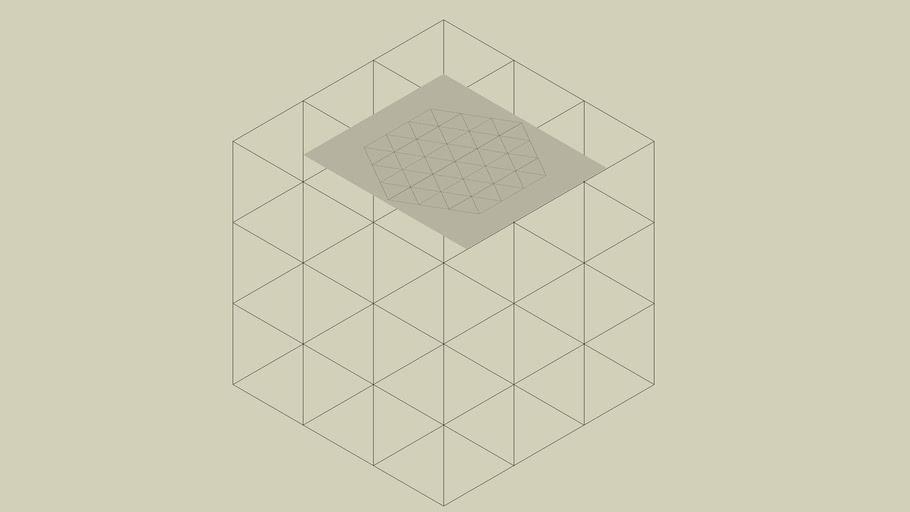 apearance of cube
