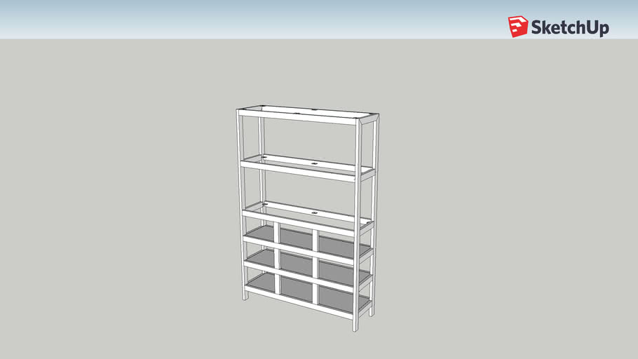 2 shelf 3x3