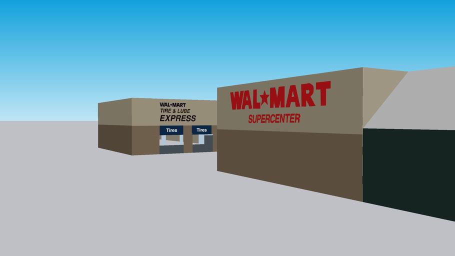 Walmart Supercenter on 2951 S Blue Angel Pkwy 32506 taken March 24, 2007-present for newer film