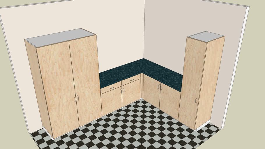 Kitchen Design Using Dynamic Components 3d Warehouse