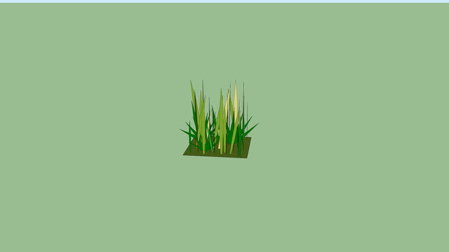 Patch of weeds or Tall Grass (49 kb)
