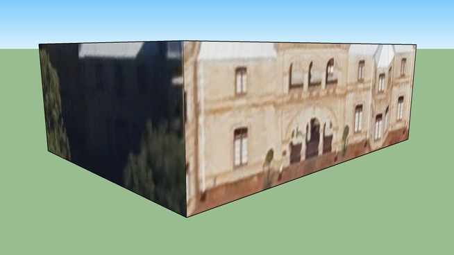 Building in Bloemfontein, South Africa