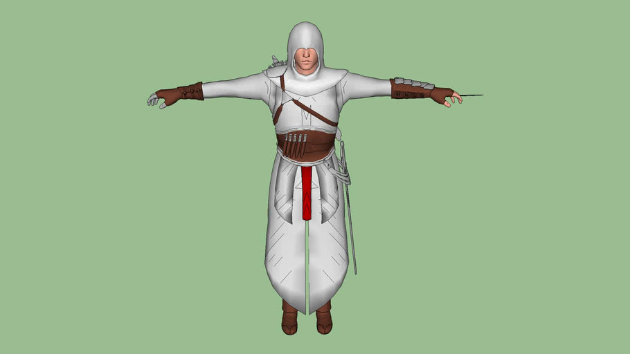 Assassin S Creed 1 Altair With Colour 3d Warehouse