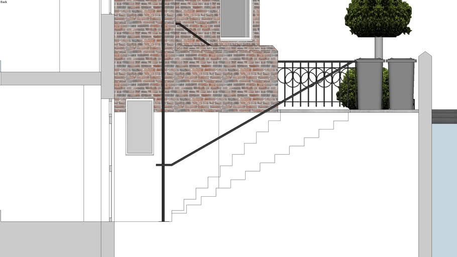 New Entrance Stair - Highgate