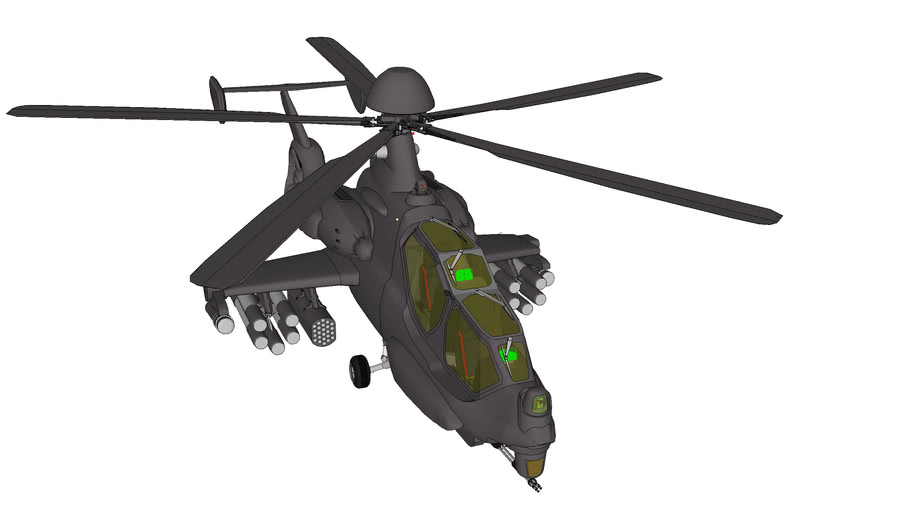 WL-505H Attack helicopter