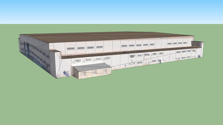 Hangar in Norfolk, Virginia, Vereinigte Staaten