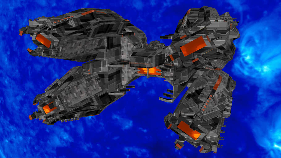 "OS-01 ""Pulsar"" Heavy Battleship"