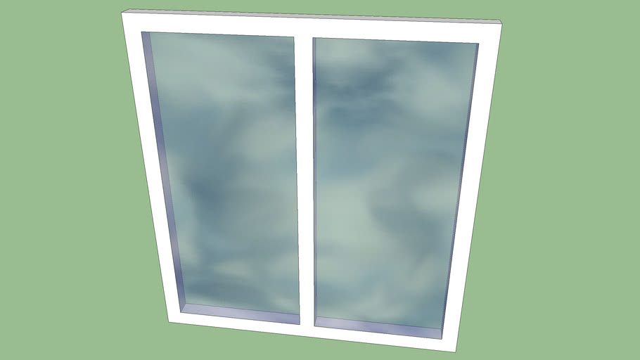 baie vitre 2*2,15