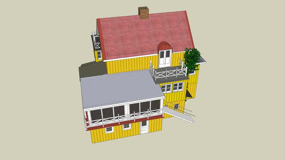 House Ekero Sweden