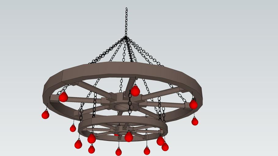 WHEEL LAMP (DEN CHUM BANH XE )