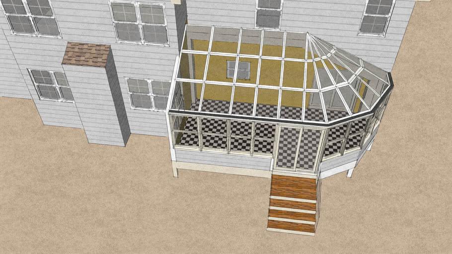Quarter Conservatory Sunroom