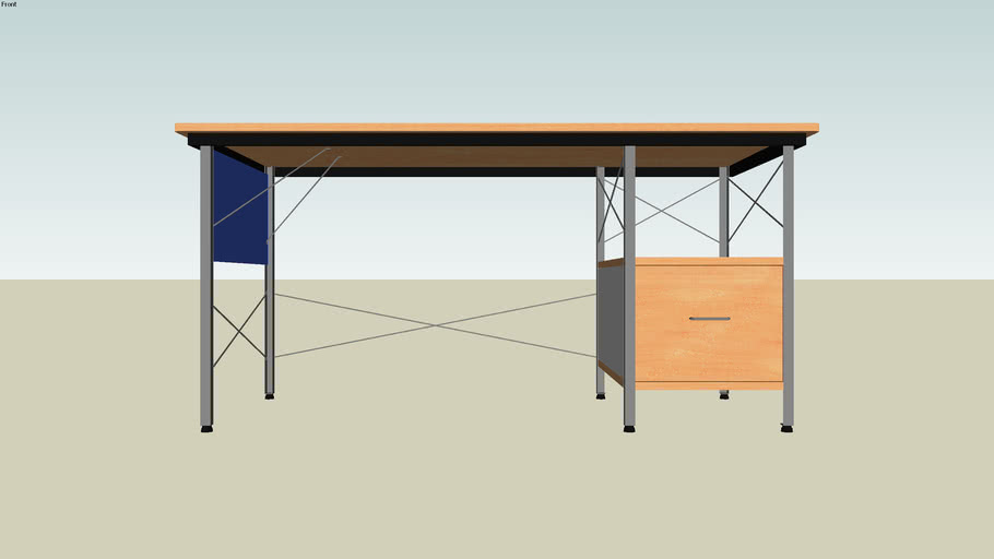 Eames® Desk with Right-Hand Drawer from SmartFurniture.com