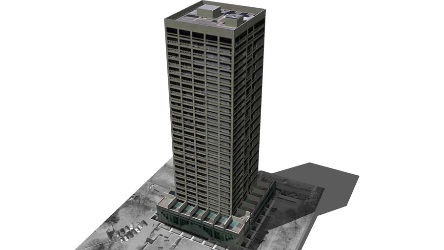 Model of AfE Turm