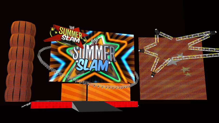 WWE SummerSlam 2010 HD Stage