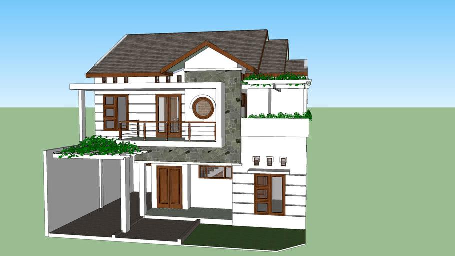 rumah tinggal 2 lantai (01)