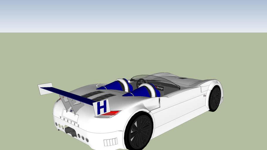 vertex race car