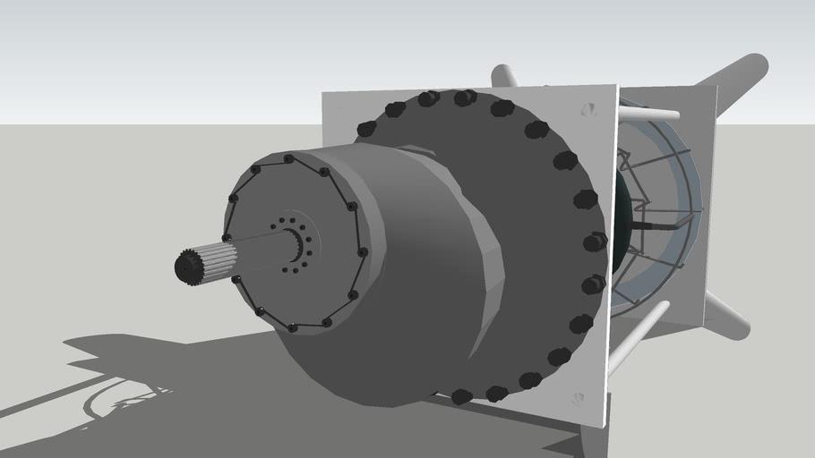 NAE 1350RF Turboshaft Engine (test)