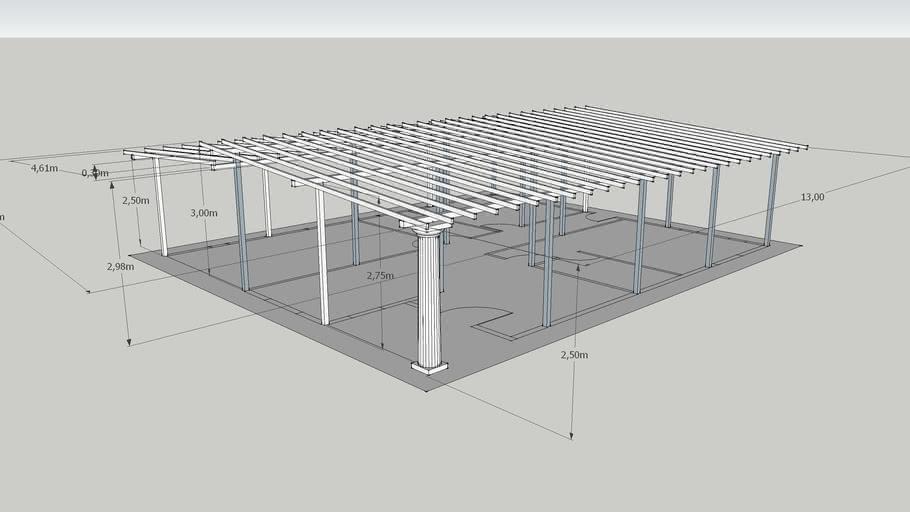 estructura de casa