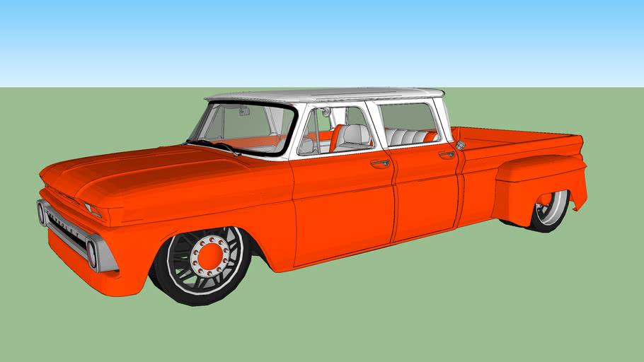 1966 CHEVROLET C30 DUALLY CREW CUSTOM
