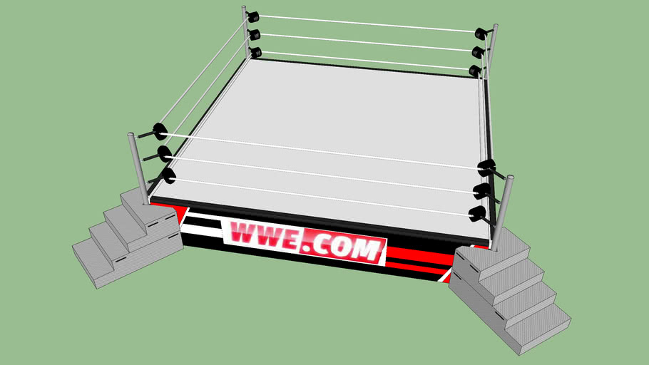 Wwe Inc:WWE raw 1000 ring
