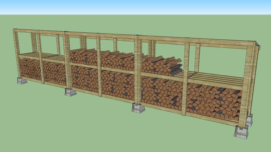 Firewood Log Storage