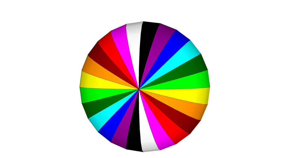 Random Colorful Ball