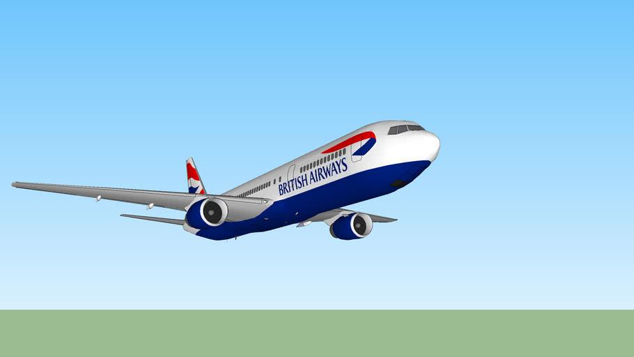 British Airways 767-300