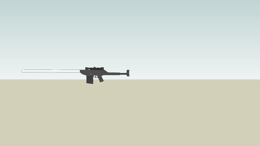 50 Caliber Long Range Sniper Rifle