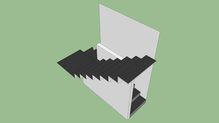 escalier quart