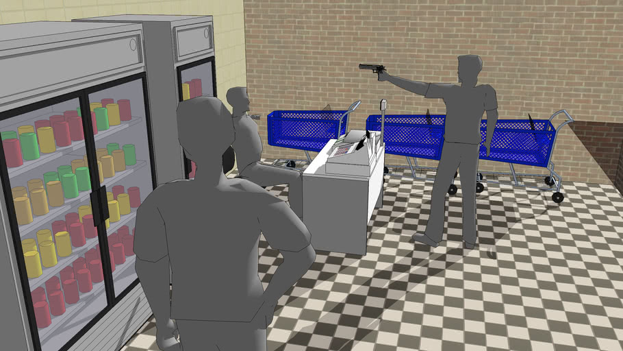 Robbery reconstruction