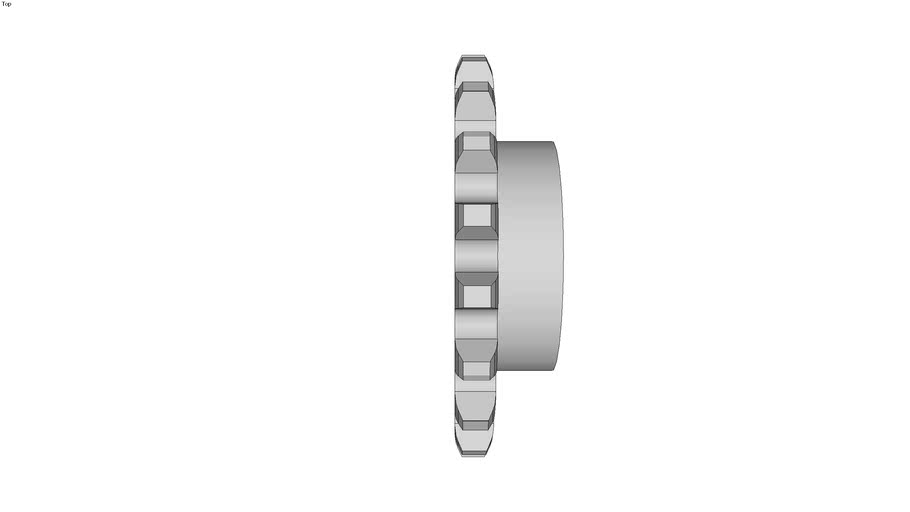 Pignon � cha�ne simple - Pas 31.75 mm
