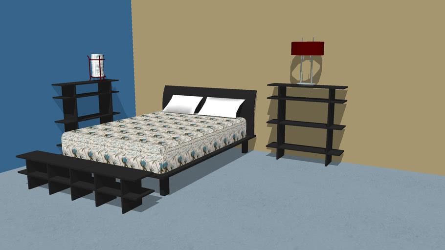 Bedroom Shelving Storage