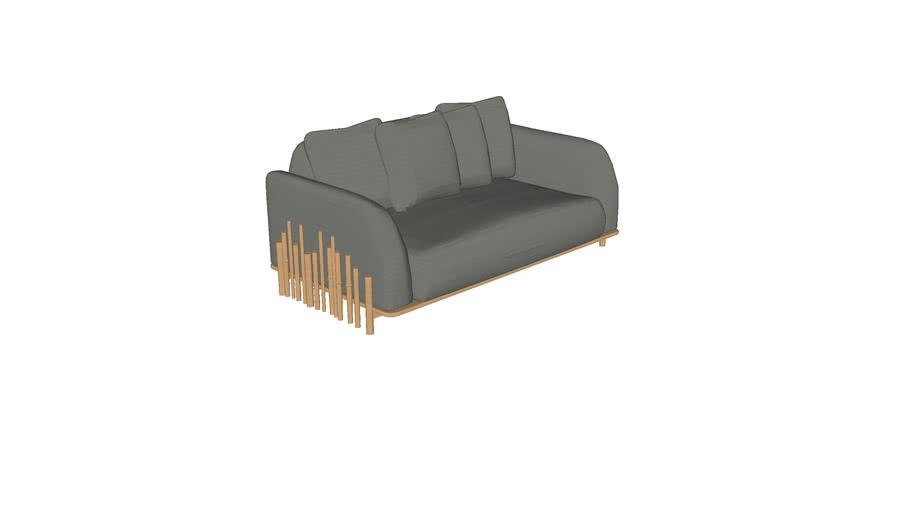 Sofa Bambu 1,80m 2BR CERCA