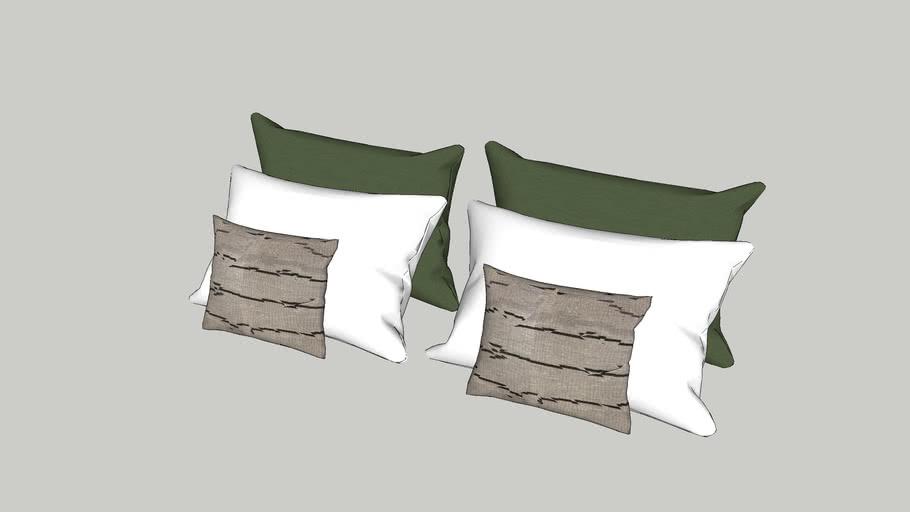 Hotel pillow set