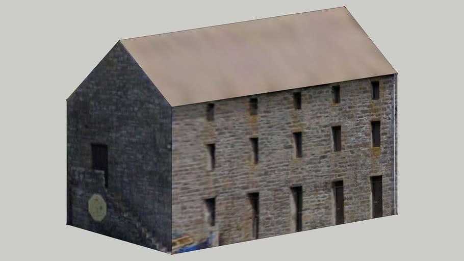 Dunbeath Harbour building